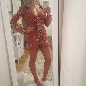 The Jetset Diaries Oasis Floral Romper